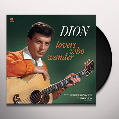 Dion LOVERS WHO WANDER + 2 BONUS TRACKS Vinyl Record