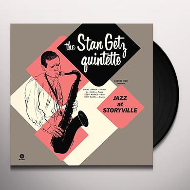 Stan Getz JAZZ AT STORYVILLE + 5 BONUS TRACKS Vinyl Record