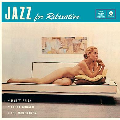 Marty Paich JAZZ FOR RELAXATION + 4 BONUS TRACKS Vinyl Record