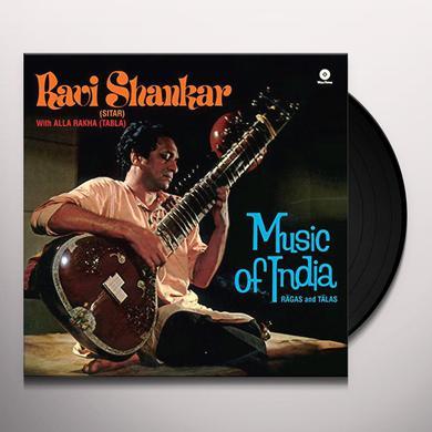 Ravi Shankar RAGAS & TALAS Vinyl Record