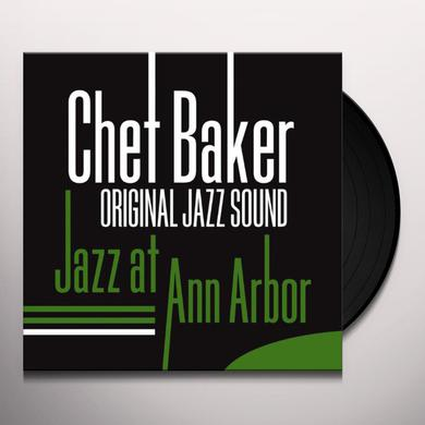 Chet Baker JAZZ AT ANN ARBOR (FEAT RUSS FREEMAN) Vinyl Record