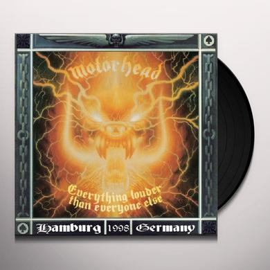 Motorhead EVERYTHING LOUDER THAN Vinyl Record
