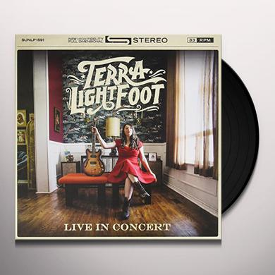 Terra Lightfoot LIVE IN CONCERT Vinyl Record