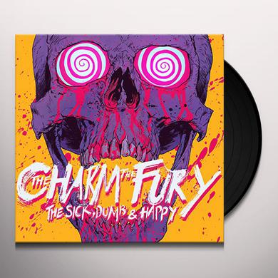 Charm The Fury SICK & DUMB & HAPPY Vinyl Record