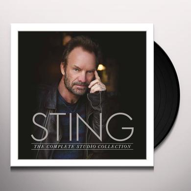 Sting COMPLETE STUDIO COLLECTION Vinyl Record