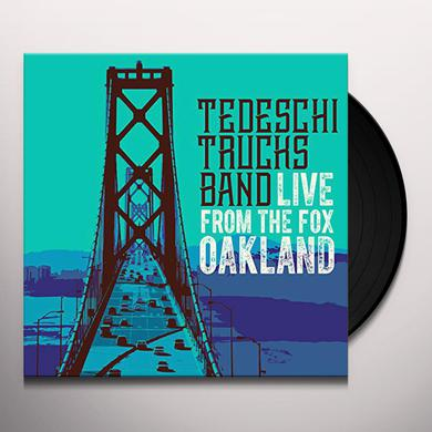 Tedeschi Trucks Band LIVE FROM THE FOX OAKLAND Vinyl Record