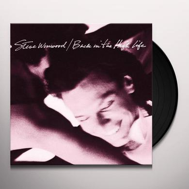 Steve Winwood BACK IN THE HIGH LIFE Vinyl Record