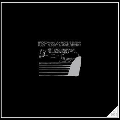Brotzmann / Van Hove / Mangelsdorff ELEMENTS Vinyl Record