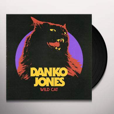 Danko Jones WILD CAT (YELLOW VINYL) Vinyl Record