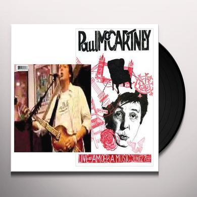 Paul Mccartney AMOEBA'S SECRET Vinyl Record