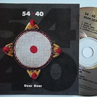 54-40 DEAR DEAR Vinyl Record - Red Vinyl