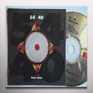 54-40 DEAR DEAR Vinyl Record - Red Vinyl