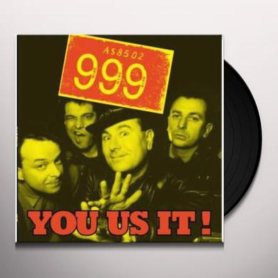 999 YOU US IT Vinyl Record