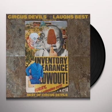 Circus Devils LAUGHS BEST Vinyl Record