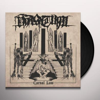 Vastum CARNAL LAW Vinyl Record