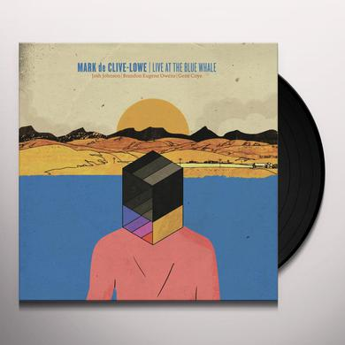 Mark De Clive-Lowe LIVE AT THE BLUE WHALE Vinyl Record