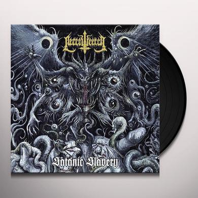 Necrowretch SATANIC SLAVERY Vinyl Record