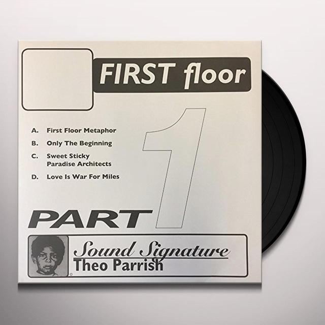 Theo Parrish FIRST FLOOR PT 1 Vinyl Record