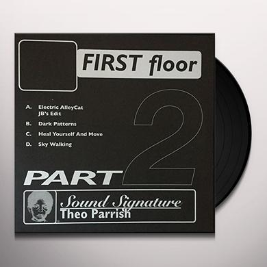 Theo Parrish FIRST FLOOR PT 2 Vinyl Record