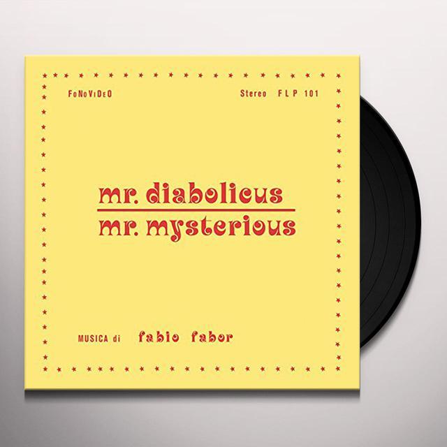 FABIO FABOR MR DIABOLICUS / MR MYSTERIOUS Vinyl Record