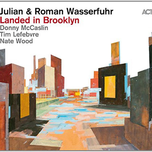 Julian Wasserfuhr & Roman LANDED IN BROOKLYN Vinyl Record