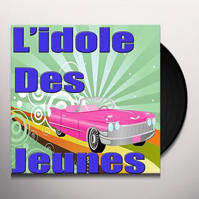 Johnny Hallyday L'IDOLE DES JEUNES Vinyl Record
