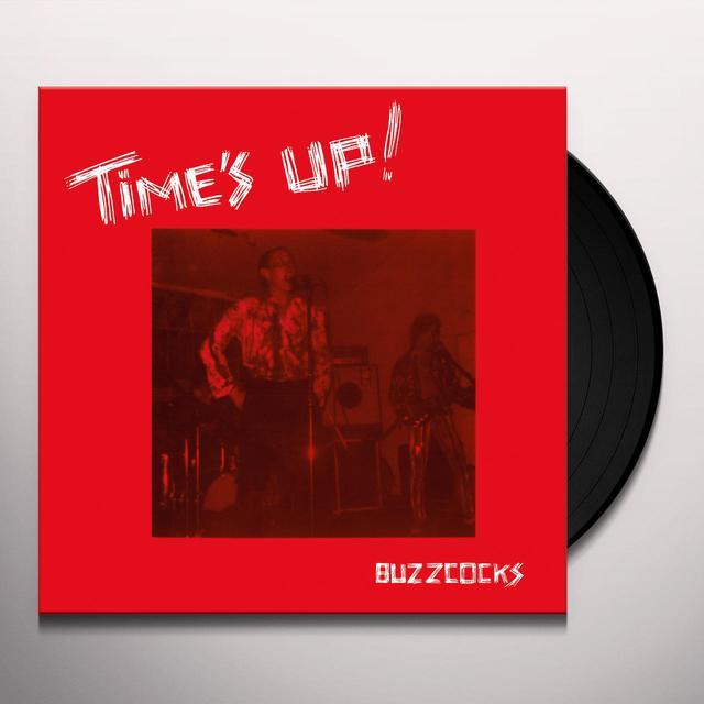 Buzzcocks TIME'S UP Vinyl Record