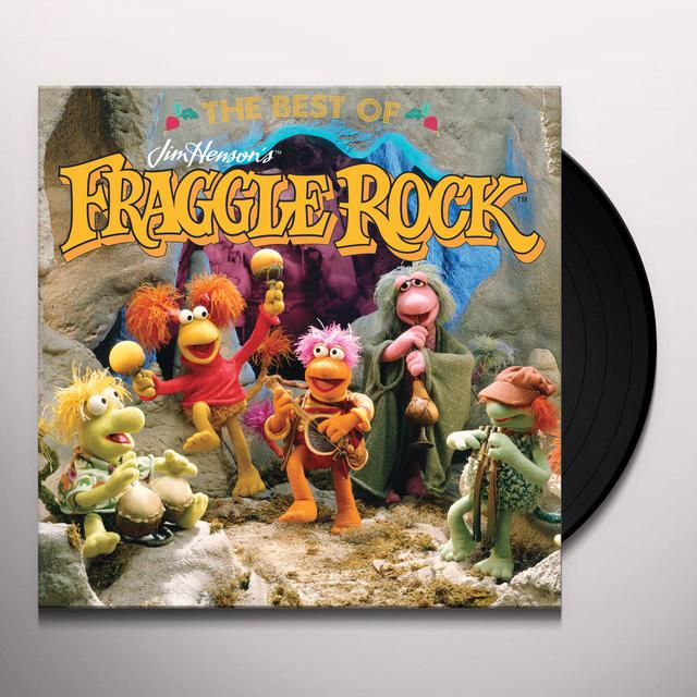 Fraggles BEST OF JIM HENSON'S FRAGGLE ROCK Vinyl Record