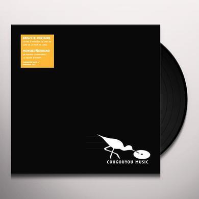 Brigitte Fontaine / Monsieurdurand LETTRE A MONSIEUR LE CHEF DE GARE DE LA TOUR DE Vinyl Record