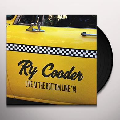 Ry Cooder LIVE AT THE BOTTOM LINE '74 Vinyl Record