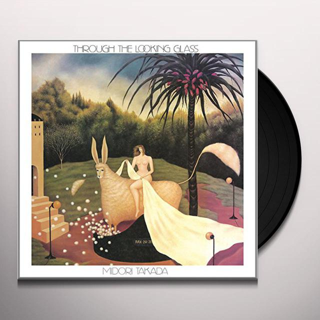 Midori Takada THROUGH THE LOOKING GLASS Vinyl Record
