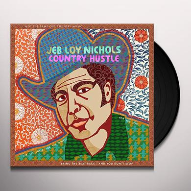 Jeb Loy Nichols COUNTRY HUSTLE Vinyl Record