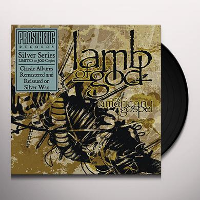 Lamb Of God NEW AMERICAN GOSPEL (SILVER EDITION) Vinyl Record
