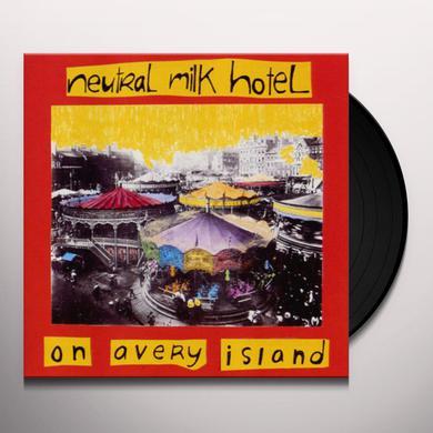 Neutral Milk Hotel ON AVERY ISLAND Vinyl Record