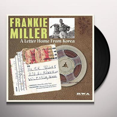 Frankie Miller A LETTER HOME FROM KOREA Vinyl Record