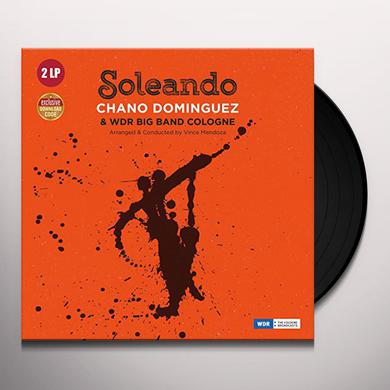 Chano Dominguez SOLEANDO WITH WDR BIG BAND COLOGNE Vinyl Record