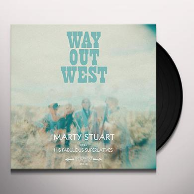 Marty Stuart WAY OUT WEST Vinyl Record