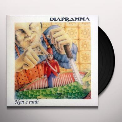 DIAFRAMMA NON E TARDI Vinyl Record