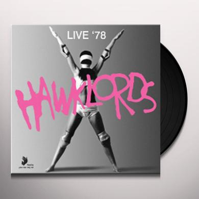 Hawklords LIVE 1978 Vinyl Record