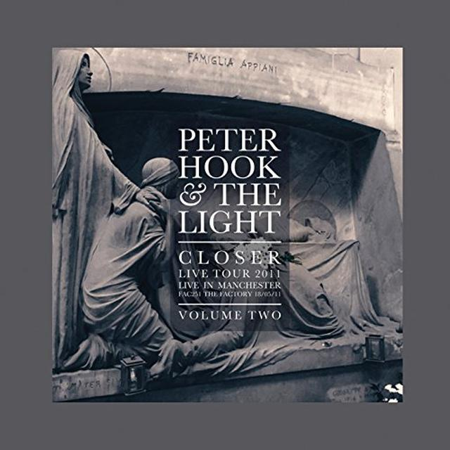Peter Hook & The Light CLOSER: LIVE IN MANCHESTER VOL 2 Vinyl Record