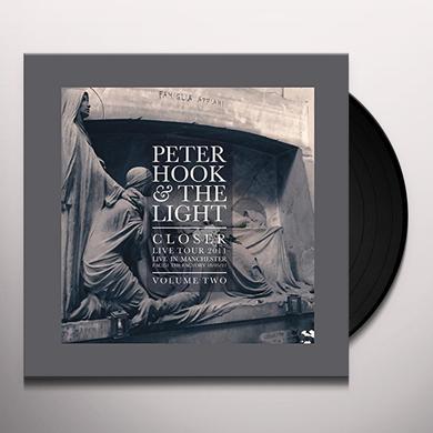 Peter Hook & The Light CLOSER: LIVE IN MANCHESTER VOL 2 Vinyl Record