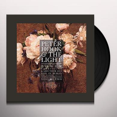 Peter Hook & The Light POWER CORRUPTION & LIES: LIVE IN DUBLIN VOL 2 Vinyl Record