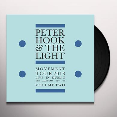 Peter Hook & The Light MOVEMENT: LIVE IN DUBLIN VOL 2 Vinyl Record