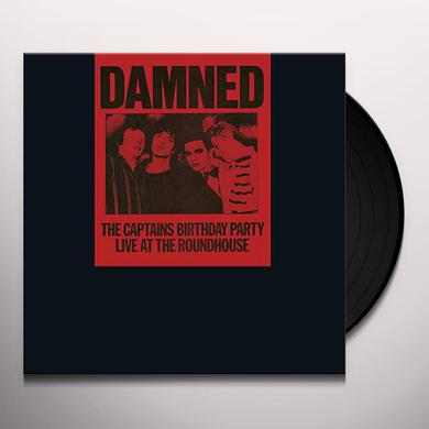 The Damned CAPTAINS BIRTHDAY PARTY Vinyl Record