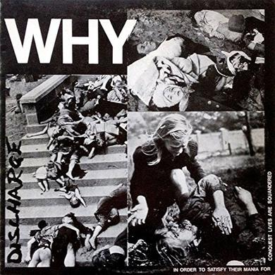 Discharge WHY Vinyl Record