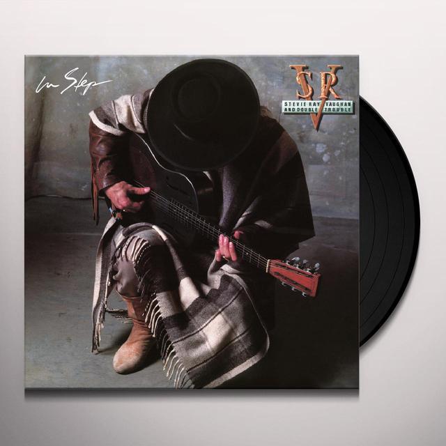 Stevie Ray Vaughan IN STEP Vinyl Record