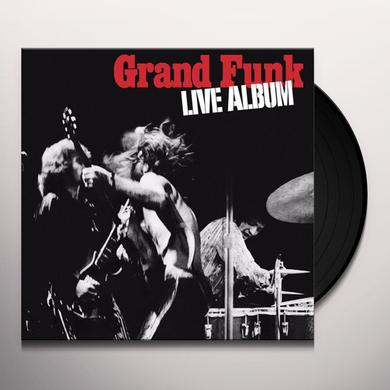 Grand Funk Railroad LIVE ALBUM Vinyl Record