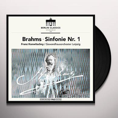 Brahms / Konwitschny BRAHMS: SYMPHONY NO 1 Vinyl Record