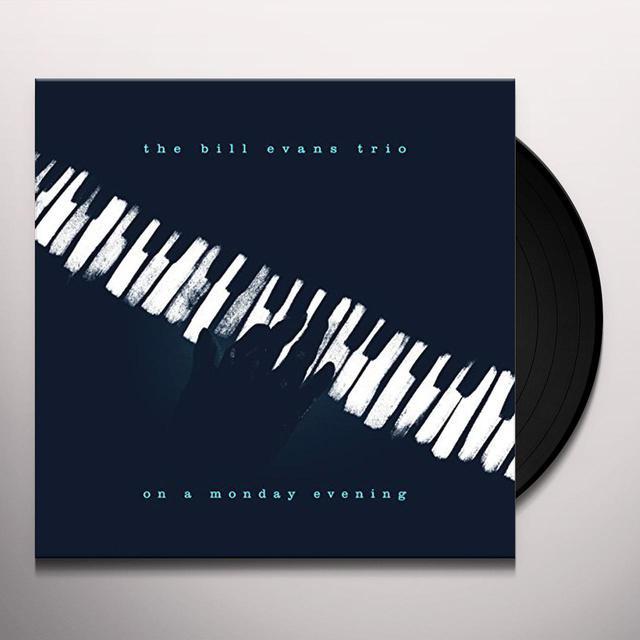 Bill Evans ON A MONDAY EVENING (LIVE) Vinyl Record