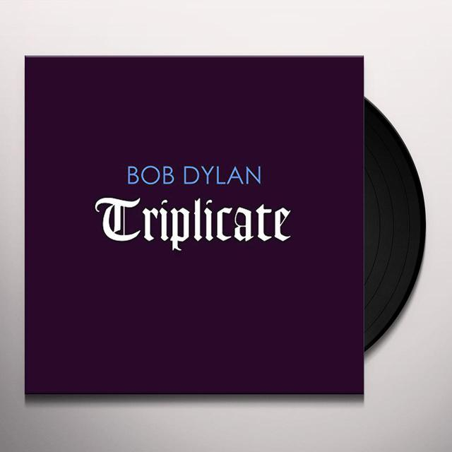 Bob Dylan TRIPLICATE   (BOX)  (DLI) Vinyl Record - Limited Edition, 180 Gram Pressing, Deluxe Edition